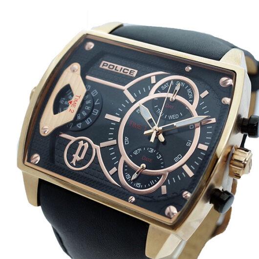 ポリス POLICE 腕時計 メンズ PL.14698JSR/02A スコーピオン SCORPION クォーツ ブラック