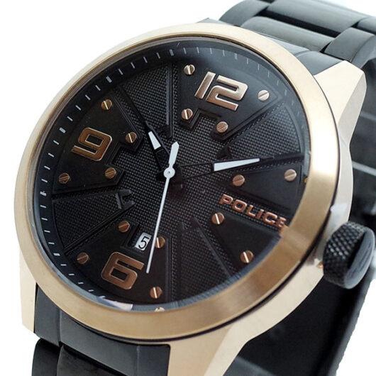 ポリス POLICE 腕時計 メンズ PL.14796JSB/02 クォーツ ブラック
