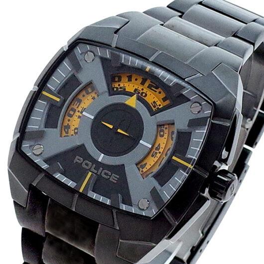 ポリス POLICE 腕時計 メンズ PL.14796JSB/02M クォーツ ブラック