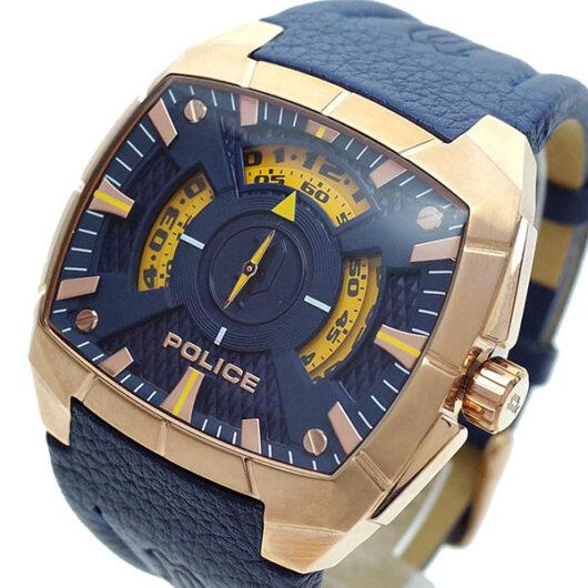 ポリス POLICE 腕時計 メンズ PL.14796JSR/03 クォーツ ネイビー