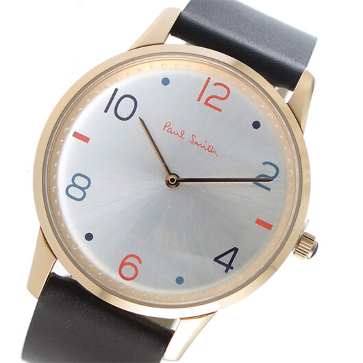 ポールスミス Paul Smith 替えベルト付 クオーツ メンズ 腕時計 PS0100005 シルバー シルバー