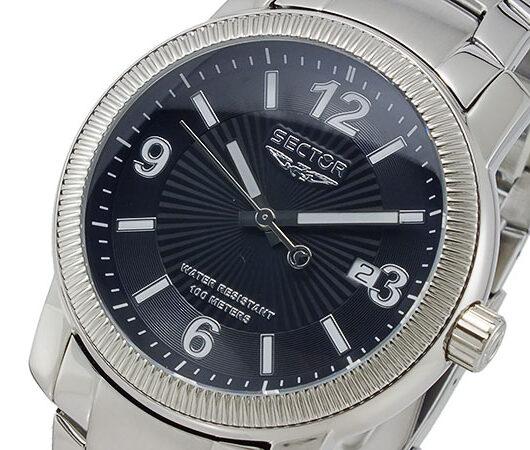 セクター SECTOR クオーツ メンズ 腕時計 R3253139025 ブラック