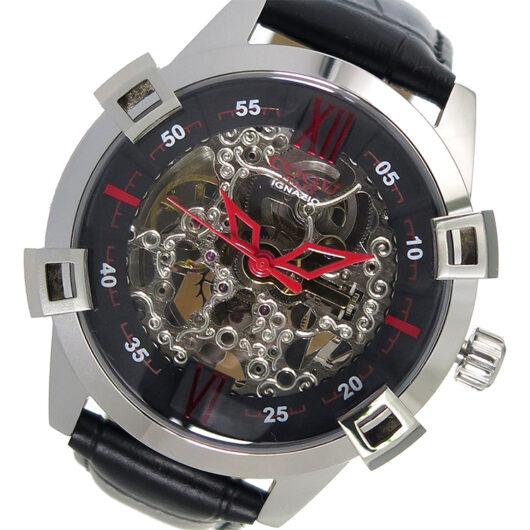 コグ COGU 自動巻き メンズ 腕時計 SKN2-BK ブラック ブラック