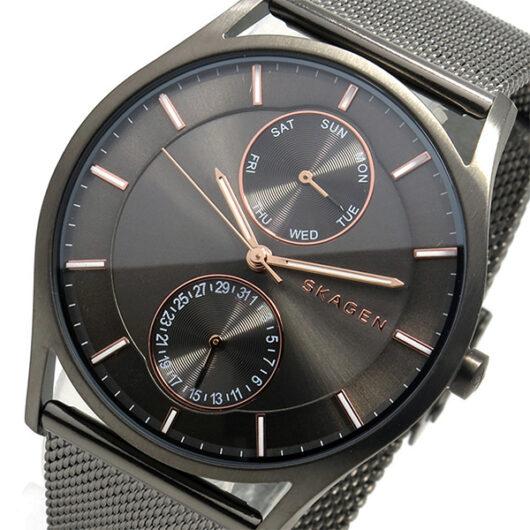 スカーゲン SKAGEN  クオーツ メンズ 腕時計 SKW6180 グレー グレー
