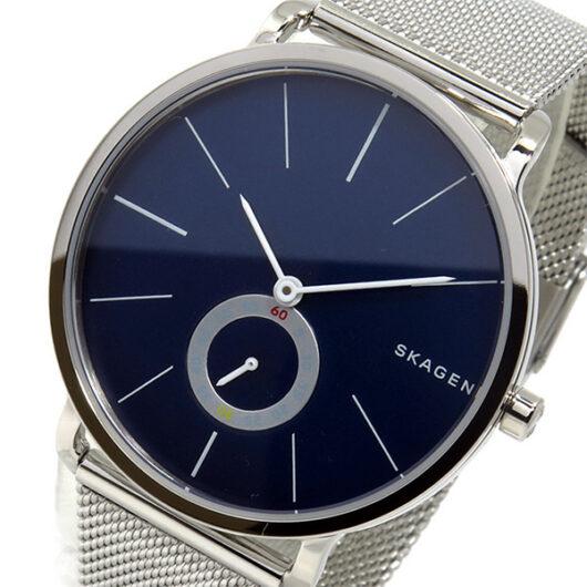 スカーゲン SKAGEN  クオーツ メンズ 腕時計 SKW6230 ネイビー ネイビー