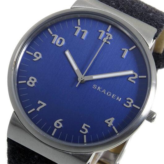 スカーゲン SKAGEN アンカー ANCHER クオーツ メンズ 腕時計 SKW6232 ネイビー ネイビー