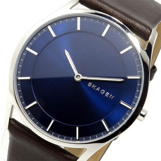 スカーゲン SKAGEN  クオーツ メンズ 腕時計 SKW6237 ネイビー ネイビー