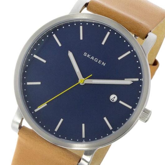 スカーゲン SKAGEN  クオーツ メンズ 腕時計 SKW6279 ダークブルー ダークブルー