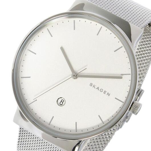 スカーゲン SKAGEN アンカー ANCHER クオーツ メンズ 腕時計 SKW6290 ホワイトシルバー ホワイト