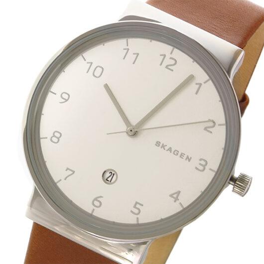 スカーゲン SKAGEN アンカー ANCHER クオーツ メンズ 腕時計 SKW6292 ホワイト ホワイト