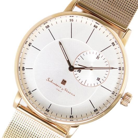サルバトーレマーラ SALVATORE MARRA クオーツ メンズ 腕時計 SM17105M-PGSV シルバー シルバー