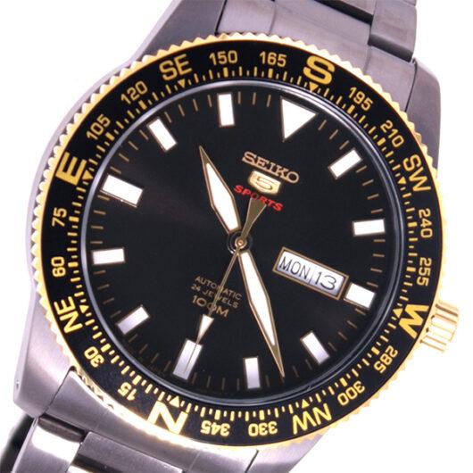 セイコー SEIKO 5スポーツ 自動巻き メンズ 腕時計 SRP670J1 ブラック ブラック
