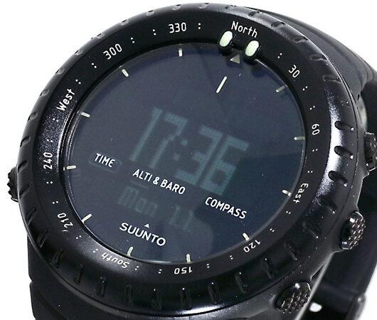 スント SUUNTO コア CORE 腕時計 SS014279010 オールブラック ブラック