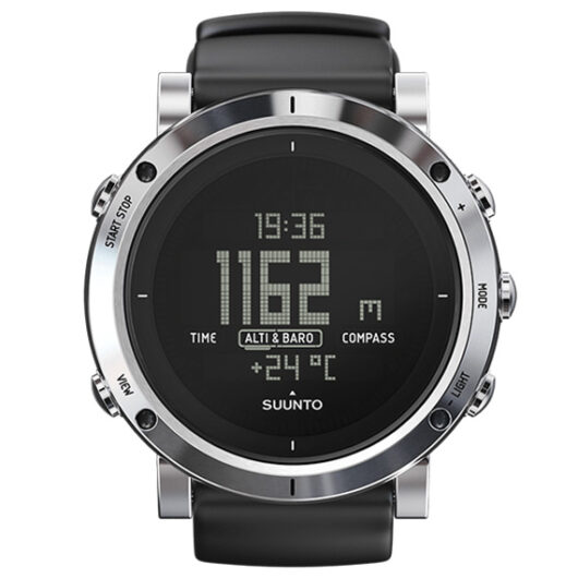 スント コア SUUNTO CORE ブラッシュドスティール BRUSHED STEEL クオーツ メンズ 腕時計 SS020339000 ブラック ブラック