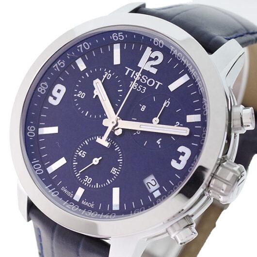 ティソ TISSOT 腕時計 メンズ T055.417.16.047.00 T-スポーツ PRC200 クォーツ ネイビー