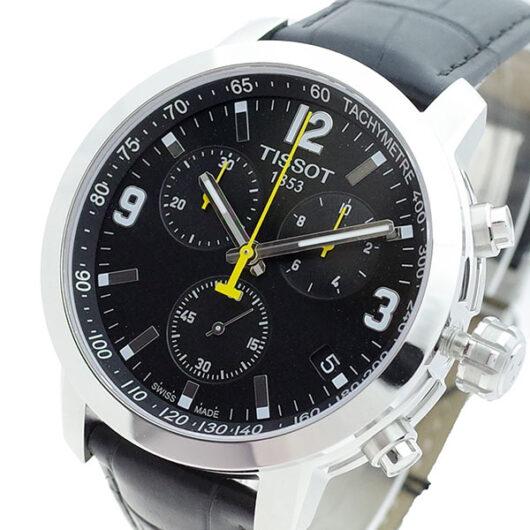 ティソ TISSOT 腕時計 メンズ T055.417.16.057.00 クォーツ ブラック