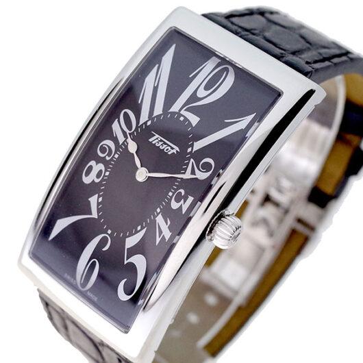 ティソ TISSOT 腕時計 メンズ T117.509.16.052.00 クォーツ ブラック