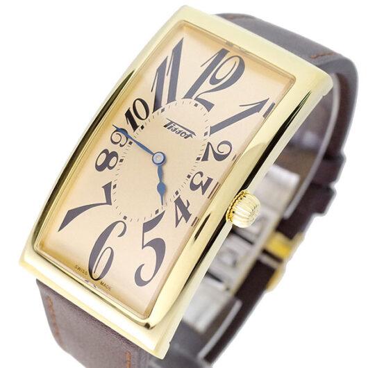 ティソ TISSOT 腕時計 メンズ T117.509.36.022.00 クォーツ ピンクゴールド ベージュ
