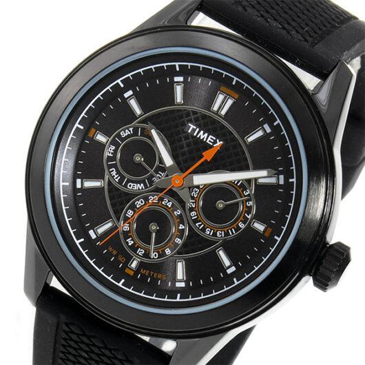 タイメックス TIMEX クオーツ メンズ 腕時計 T2P179 ブラック ブラック