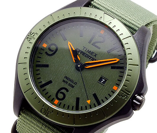 タイメックス TIMEX エクスペディション クオーツ メンズ 腕時計 T49932 グリーン
