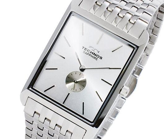 テクノス TECHNOS クオーツ メンズ 腕時計 T9268SS シルバー シルバー
