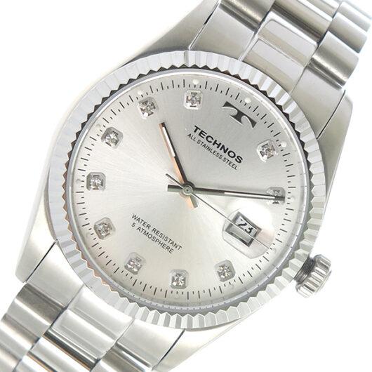 テクノス TECHNOS クオーツ メンズ 腕時計 T9604SS シルバー シルバー