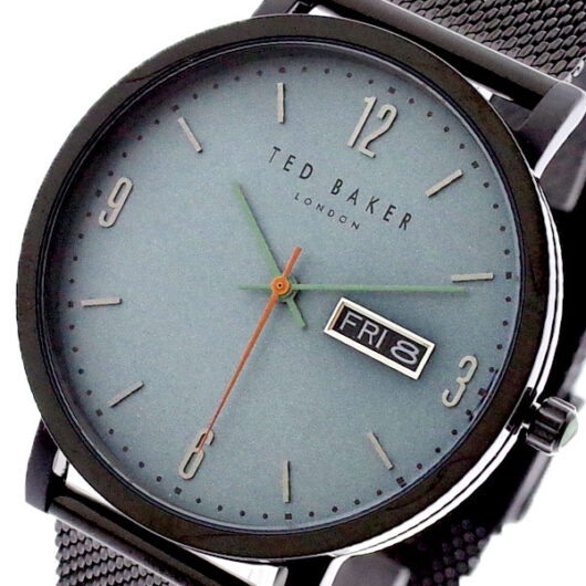 テッドベーカー TED BAKER 腕時計 メンズ TE15196014 クォーツ ブラック ブラック