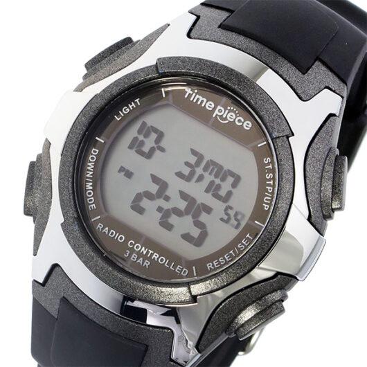タイムピース TIME PIECE 電波 デジタル メンズ 腕時計 TPW-001GM ガンメタ ガンメタ