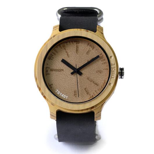 タックス TACS NATURE-L 腕時計 TS1401B ナチュラル×ブラック ナチュラル