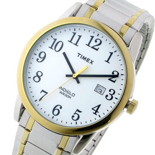 タイメックス TIMEX イージーリーダー Easy Reader クオーツ メンズ 腕時計 TW2P81400 ホワイト ホワイト