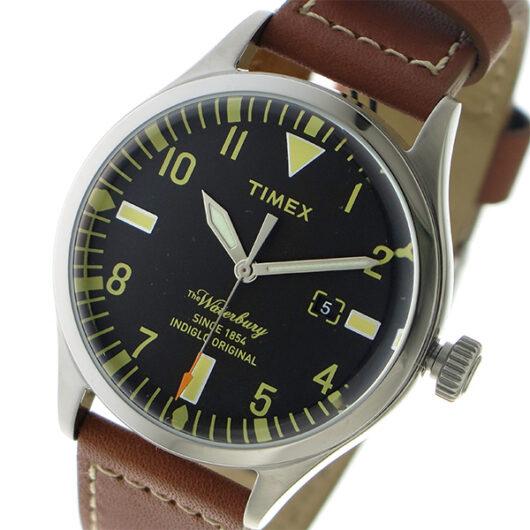 タイメックス TIMEX ウォーターベリー レッドウィング クオーツ メンズ 腕時計 TW2P84000 ブラック ブラック