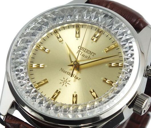 オリエント ORIENT フラッシュ ノーススター 復刻モデル メンズ 腕時計 URL002DL 国内正規 イエローゴールド