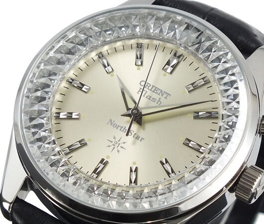 オリエント ORIENT フラッシュ ノーススター 復刻モデル メンズ 腕時計 URL003DL 国内正規 ホワイトゴールド