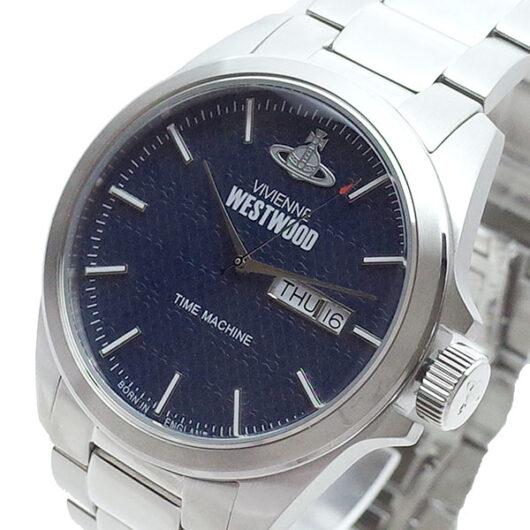 ヴィヴィアンウエストウッド VIVIENNE WESTWOOD 腕時計 メンズ VV063NVSL クォーツ ネイビー シルバー