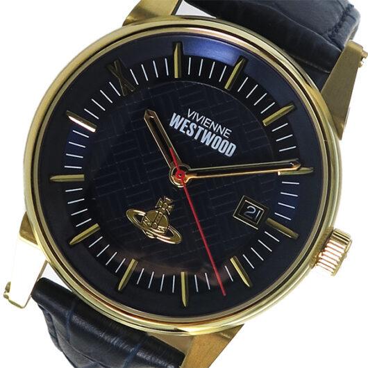 ヴィヴィアン ウエストウッド Vivienne Westwood メンズ 腕時計 VV065BLBL ネイビー ネイビー