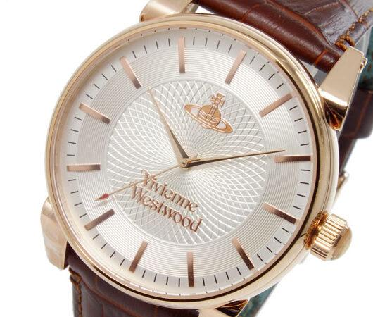 ヴィヴィアン ウエストウッド VIVIENNE WESTWOOD フィンズバリー クオーツ メンズ 腕時計 VV065RSBR シルバー