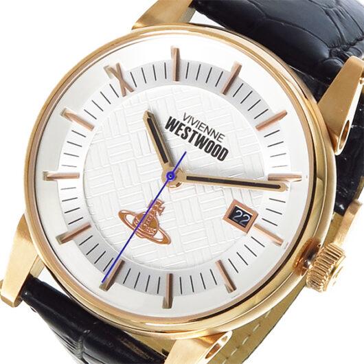 ヴィヴィアン ウエストウッド Vivienne Westwood メンズ 腕時計 VV065SWHBK ホワイト ホワイト