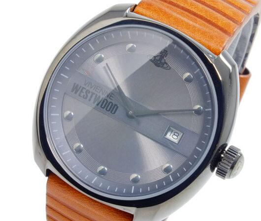 ヴィヴィアン ウエストウッド VIVIENNE WESTWOOD クオーツ メンズ 腕時計 VV080GNTN グレー