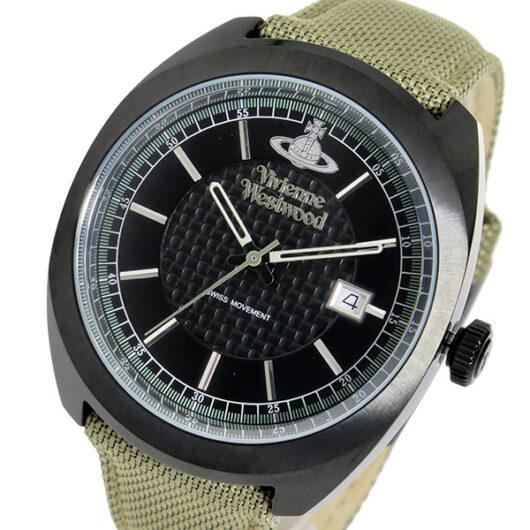 ヴィヴィアン ウエストウッド クオーツ メンズ 腕時計 VV136BKBG ブラック ブラック