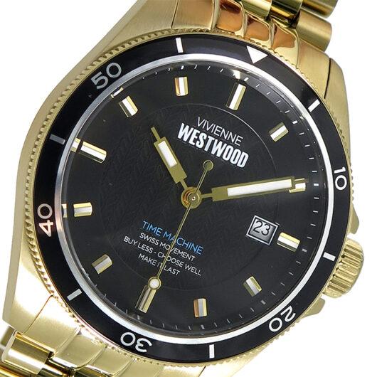 ヴィヴィアンウエストウッド Vivienne Westwood クオーツ メンズ 腕時計 VV181BKGD ブラック ブラック