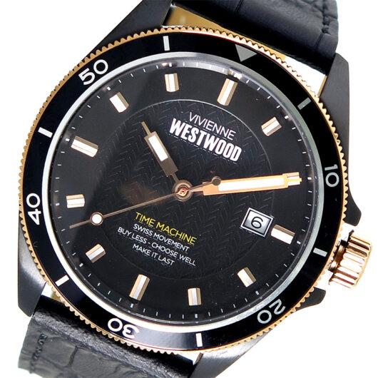 ヴィヴィアンウエストウッド Vivienne Westwood クオーツ メンズ 腕時計 VV181RSBK ブラック ブラック