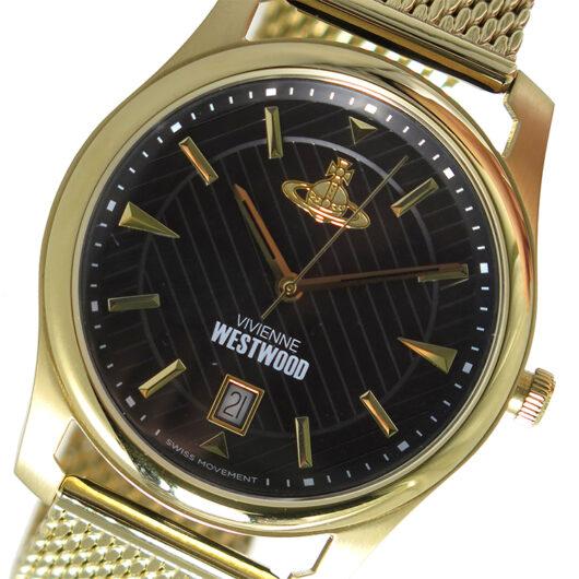 ヴィヴィアンウエストウッド Vivienne Westwood クオーツ メンズ 腕時計 VV185BKGD ブラック ブラック