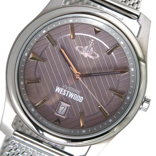 ヴィヴィアンウエストウッド Vivienne Westwood クオーツ メンズ 腕時計 VV185GYSL グレー グレー