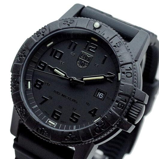 ルミノックス LUMINOX 替えベルト付き 腕時計 メンズ XS.0321.VP2.SET クォーツ ブラック
