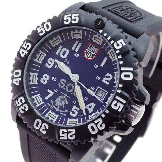 ルミノックス LUMINOX 腕時計 メンズ XS.3053.SOC SET クォーツ ブルー ブラック