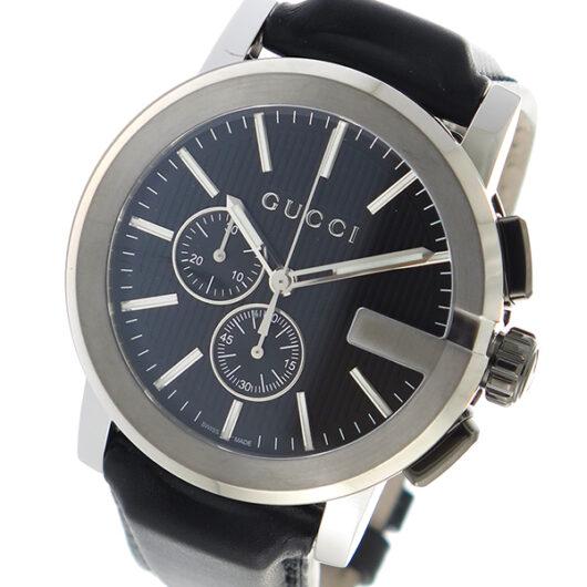 グッチ GUCCI Gタイムレス クオーツ メンズ 腕時計 YA101205 ブラック ブラック