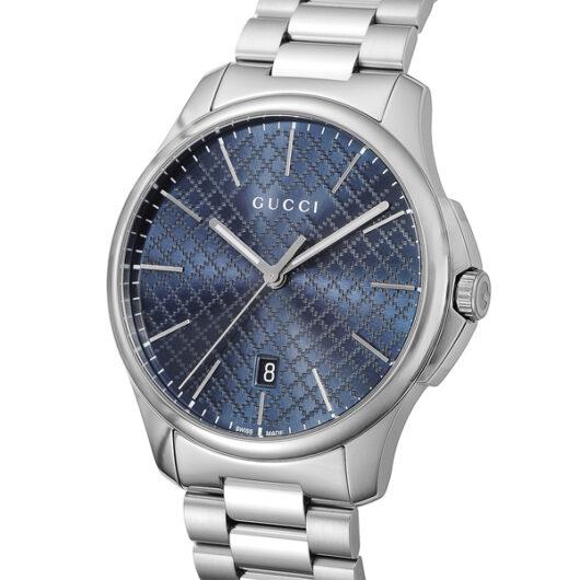 グッチ GUCCI Gタイムレス クオーツ メンズ 腕時計 YA126316 ブルー ブルー