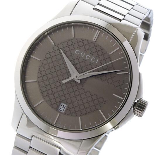 グッチ GUCCI Gタイムレス G-TIMELESS クオーツ メンズ 腕時計 YA126445 ブラウン ブラウン