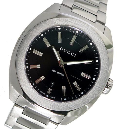 グッチ GUCCI GG2570 クオーツ メンズ 腕時計 YA142201 ブラック ブラック