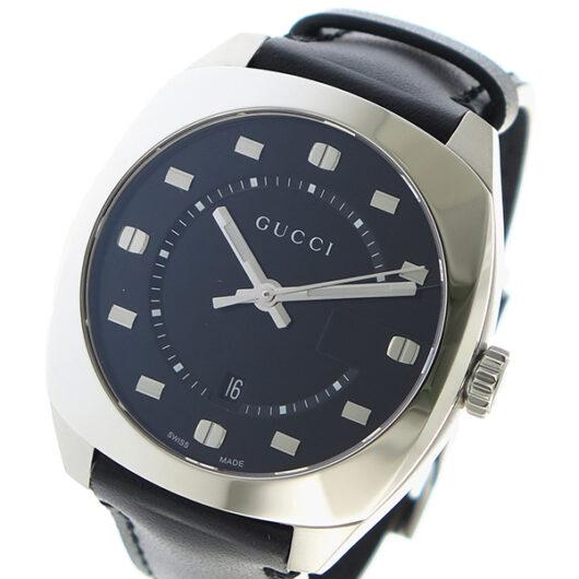 グッチ GUCCI GG2570 クオーツ メンズ 腕時計 YA142307 ブラック ブラック